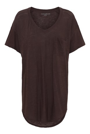 MOSHI MOSHI MIND - DREAMY T-SHIRT - FRENCH BROWN