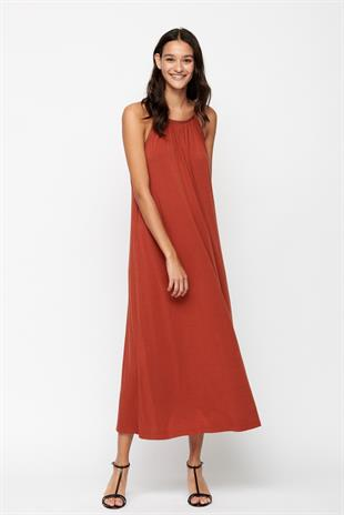 MOSHI MOSHI MIND - WILLA DRESS LYOCELL - ARABIAN SPICE
