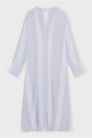 MOSHI MOSHI MIND - SUMMER KAFTAN STRIPE - BLUE MIX
