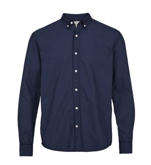 KRONSTADT - JOHAN OXFORD WASHED - BLUE