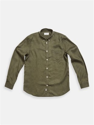 GABBA - BOSTON TENCEL SHIRT - GRAPE LEAF