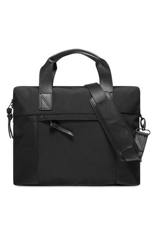 MATINIQUE - COMMUTER N NYLON BAG - BLACK