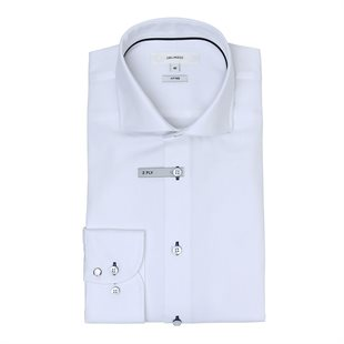 2 BLIND 2 C - 147 FRED S SHIRT FITTED - WHITE