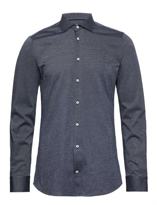 2 BLIND 2 C - 145 STEVE S SHIRT SLIM - NAVY