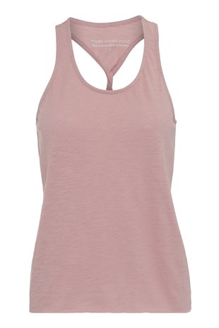 MOSHI MOSHI MIND - TWIST TANKTOP - ROSE TAN
