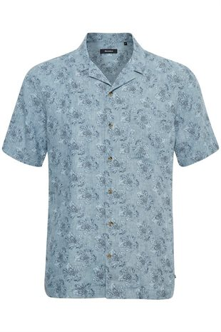 MATINIQUE - TROSTOL RESORT FADED PRINT - INK BLUE