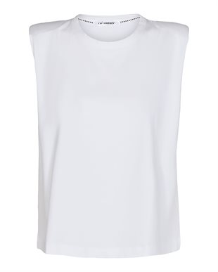 CO´COUTURE - EDUARA TEE - WHITE