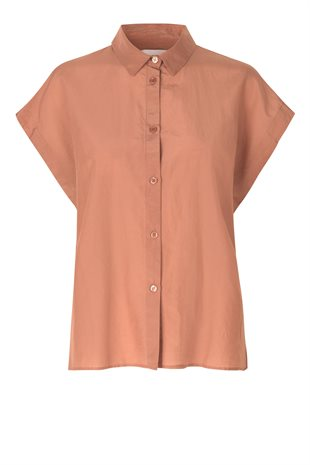 SECOND FEMALE - AUSO SHIRT - MOCHA MOUSSE