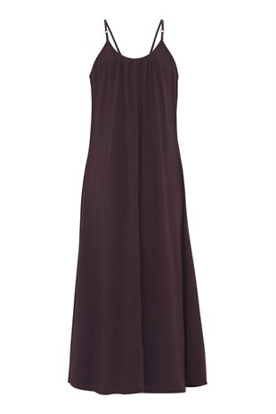 MOSHI MOSHI MIND - CAVE JERSEY DRESS - FRENCH BROWN
