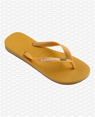 HAVAIANAS - BRAZIL LAYERS - BURNED YELLOW