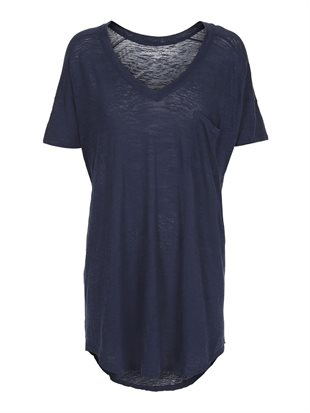 MOSHI MOSHI MIND - DREAMY T-SHIRT - NAVY BLUE