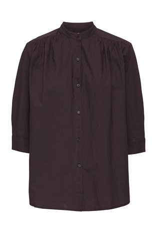 MOSHI MOSHI MIND - LAUREN SHIRT - FRENCH BROWN