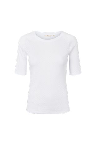 BASIC APPAREL - ARENSE TEE - WHITE