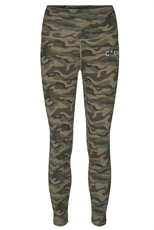 CO'COUTURE - CAMO TIGHTS - ARMY