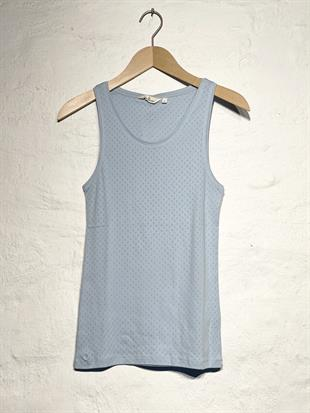 BASIC APPAREL - ARENSE TANK - CASHMERE BLUE