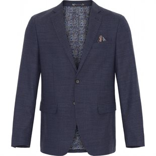 2 BLIND 2 C - FRESCO STRETCH BLAZER FITTED - NAVY