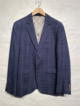2 BLIND 2 C - TOM KI 594 - NAVY CHECK