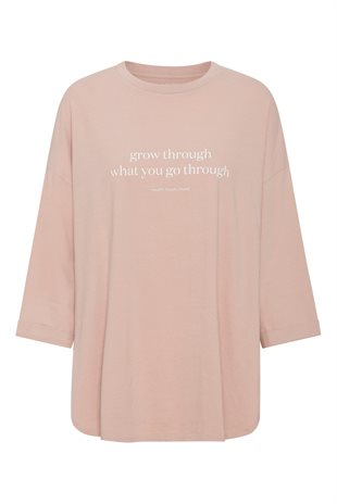 MOSHI MOSHI MIND - SLOW TEE - ROSE