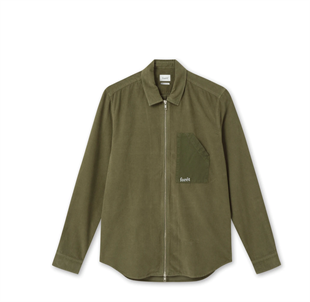 FOR´ET - STRAY ZIP SHIRT - SLATE