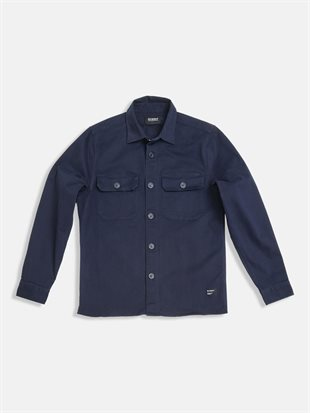GABBA - TOPPER SHIRT - NAVY