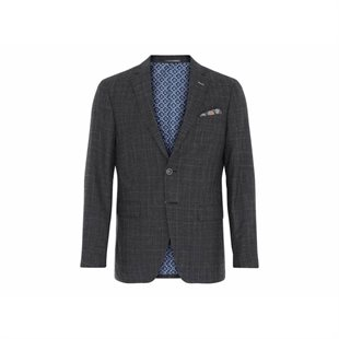 2 BLIND 2 C - 136 FRESCO STRETCH BLAZER FITTED - DGR