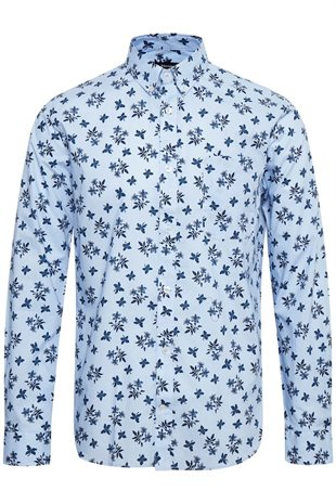 MATINIQUE - TROSTOL BD AUTUMN FLOWER - CHAMBREY BLUE