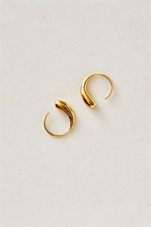 STUDIO LOMA - FLORA EARRING SMALL - GULD