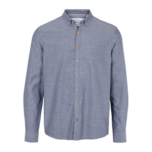 KRONSTADT - JOHAN DIEGO SHIRT - LIGHT NAVY