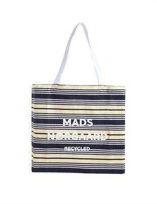 MADS NØRGAARD - RECYCLED PRINT BOUTIQUE ATHENE - BLACK/BANANA/WHITE