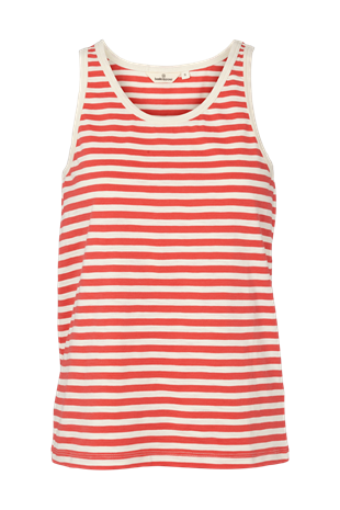 BASIC APPAREL - RITA TANK - CAYENNE